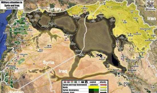 Syrien Irak Krieg