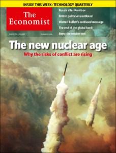 Cover der aktuellen Ausgabe des britischen Economist: Die NATO spielt mit dem Feuer – und gibt die Schuld den anderen....
