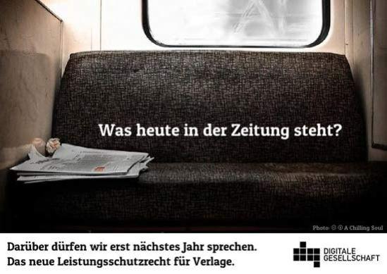 Leistungsschutzrecht für Verlage