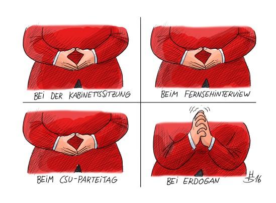 Merkel-Gesten