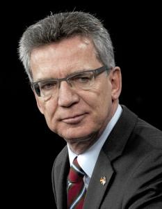 Thomas de Maizière (CDU), Bundesinnenminister