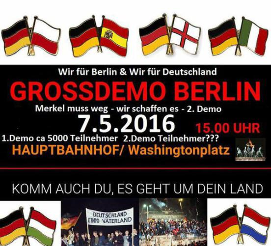 Großdemo Berlin 07.05.2016