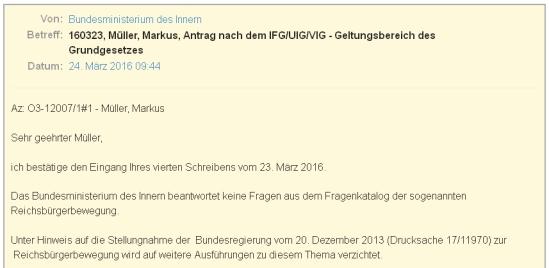 Fragen Sie doch mal nach bei FragDenStaat.de 2